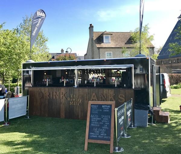 Mobile bar trailer for sale