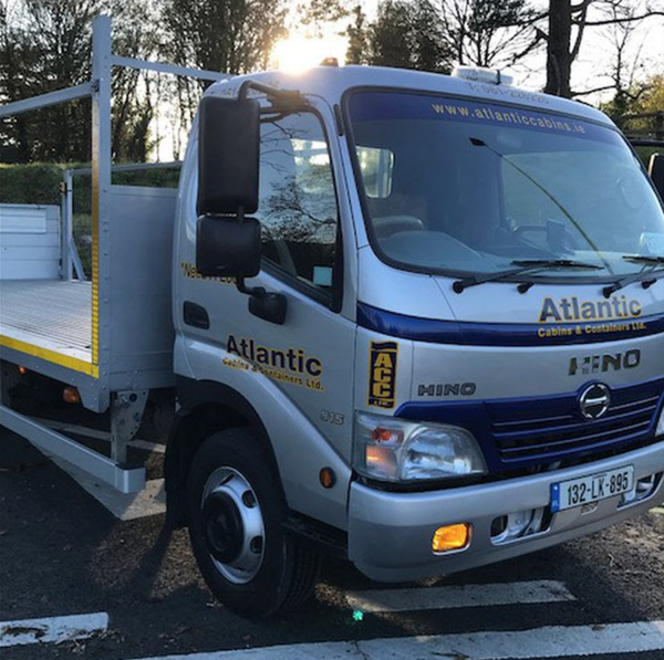 Used Hino truck