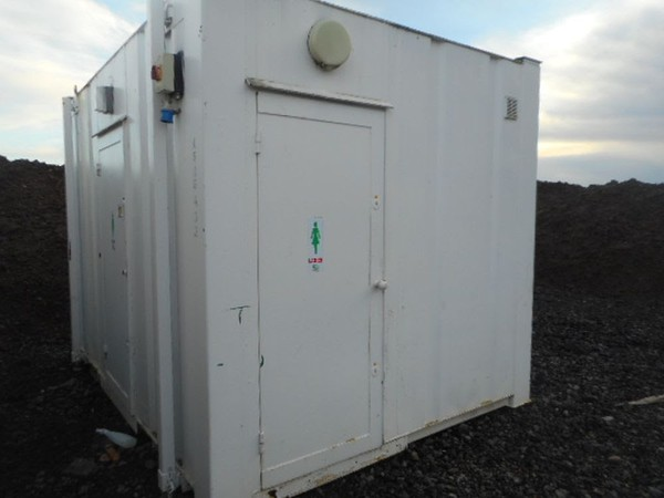 2 + 1 toilet building for sale