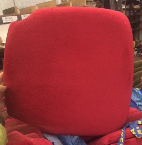 Red seat pads for sale