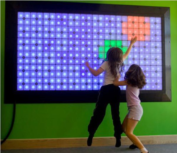 Lightspace Corporation Play Wall With Kiosk As New Condition!