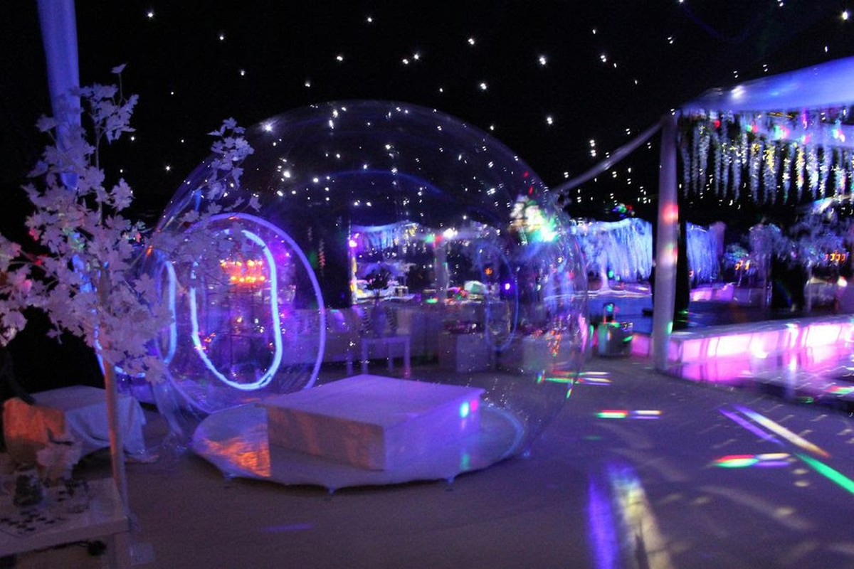 Air Bag Jack >> Curlew - SecondHand Marquees | Inflatable Marquees | Inflatable Clear Bubble Tent - Ascot, Berkshire