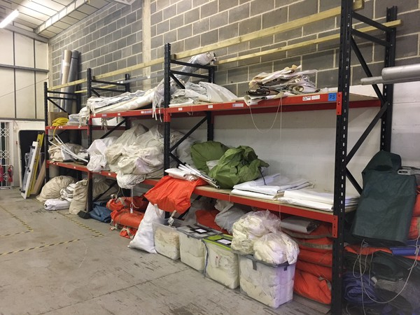 Used heavy duty racks