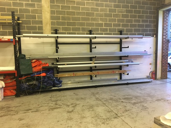 Wall mounted racking for sale