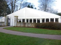 Clear span marquee hire