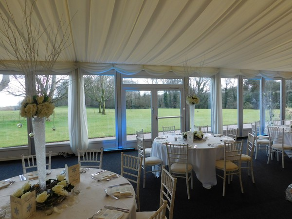 Marquee for hire or sale