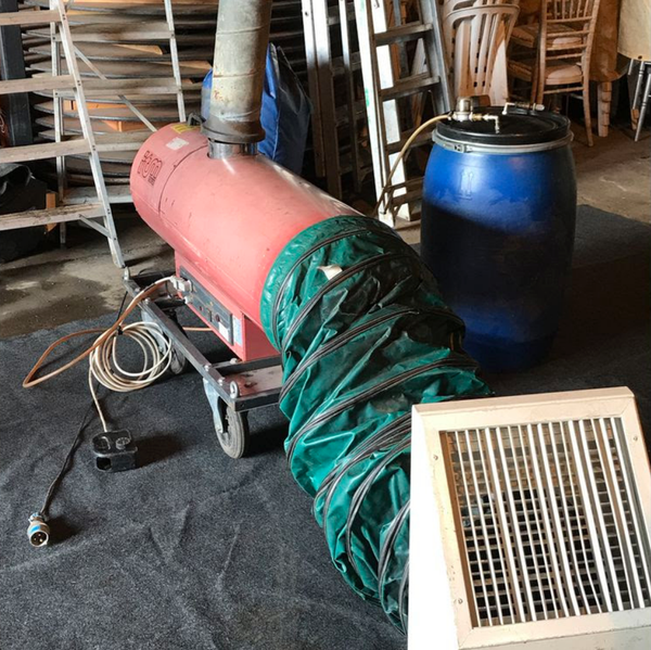Used antares Indirect heaters