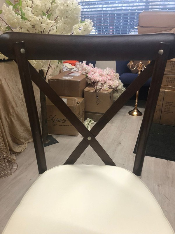 dark brown banquet chairs for sale