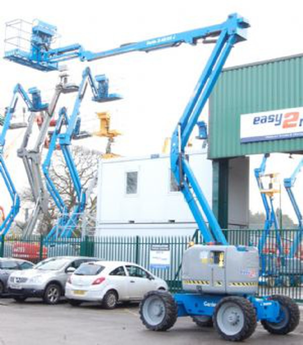 Second Hand Genie Z45/25J 4X4 Diesel boom lift