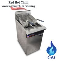 Used double gas fryer for sale