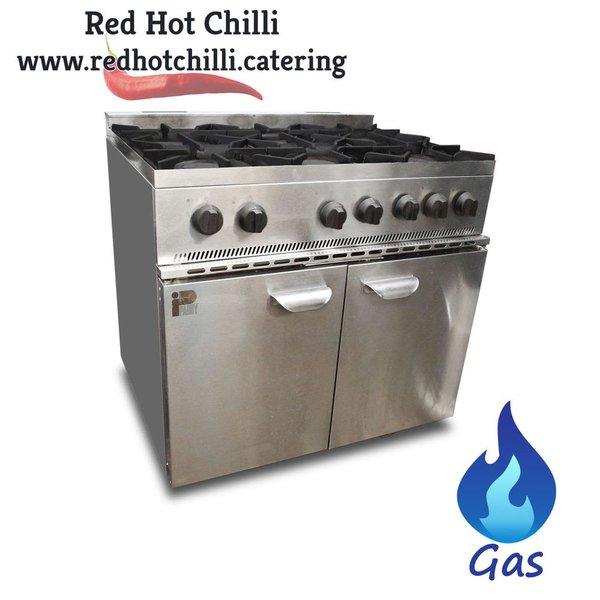 Gas 6 burner for sale