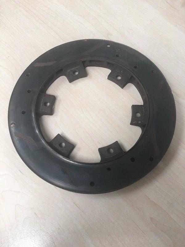 ventilated kart disk