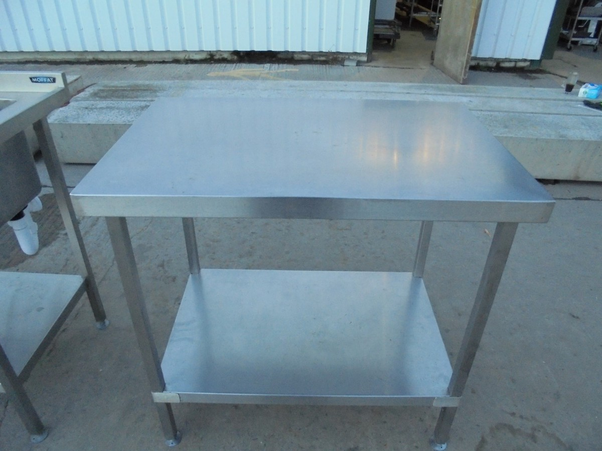 Secondhand Catering Equipment | Stainless steel tables (0 - 1m ...
