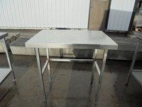 Stainless steel table 90cmW x 65cmD x 90cmH