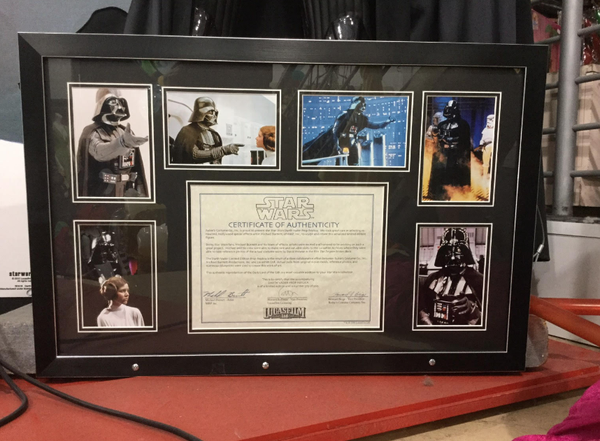 Limited edition star wars props