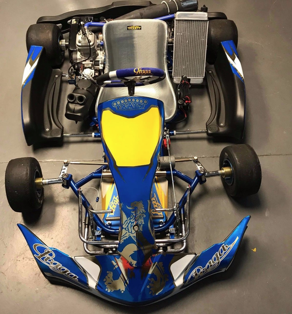 New Praga Dragon Go Kart With New IAME X30 Engine