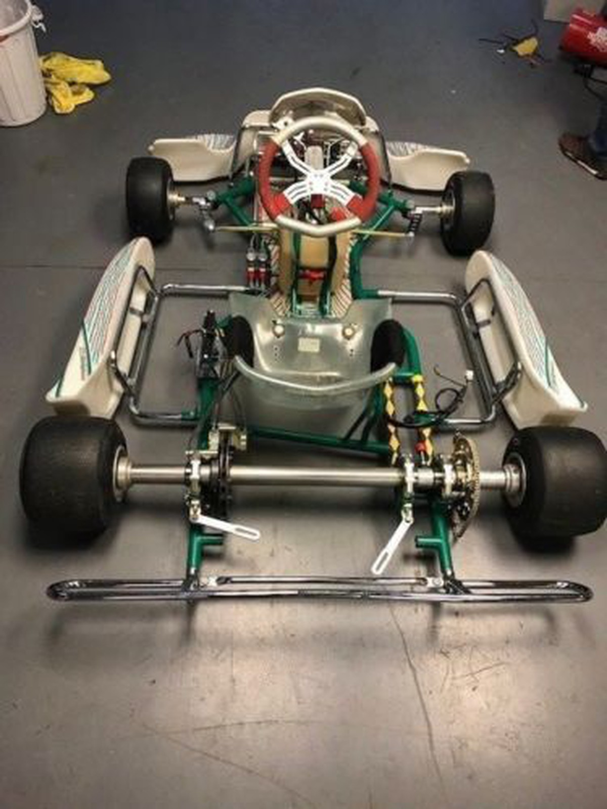 Secondhand-Karting.co.uk | Rolling Chassis | Tony Kart 401 rolling ...