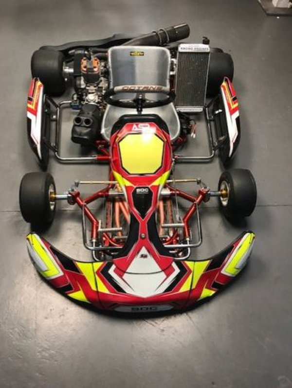 Octane FY30 Go Kart With IAME X30 Engine
