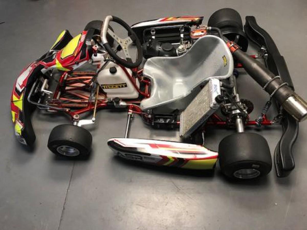 Secondhand Karting Co Uk Single Karts Octane Fy30 Go