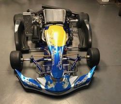 senior praga go kart with rotax engine