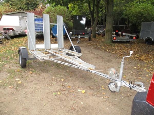 Unique Galvanised 3 Wheeler / Trike / Tricycle Transporter Road Trailer