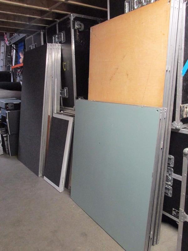 Tetrart Easy Open Aluminium Lightweight Staging / Stage Decks
