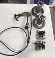 Front braking system