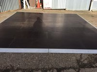 Dark wooden dance floor for sale