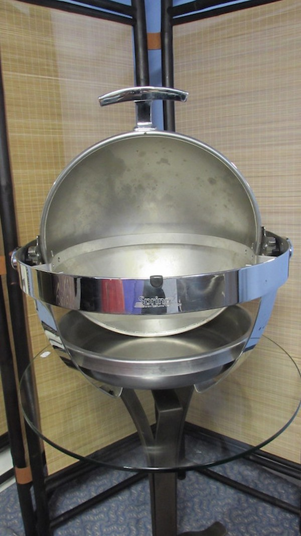Used Spring of Switzerland Chafing Bowl