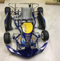 Brand new praga cadet go kart rolling chassis
