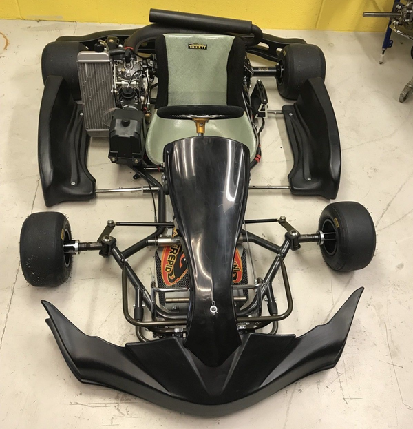 Intrepid Storm Senior go kart with rotax max engine
