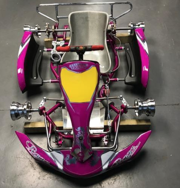 Single go kart for sale
