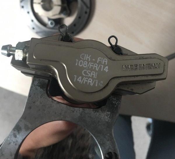 Secondhand braking system