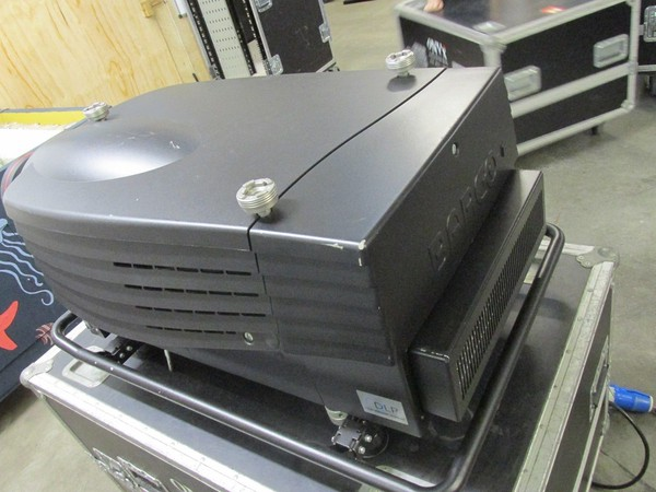 Barco slim projector for sale