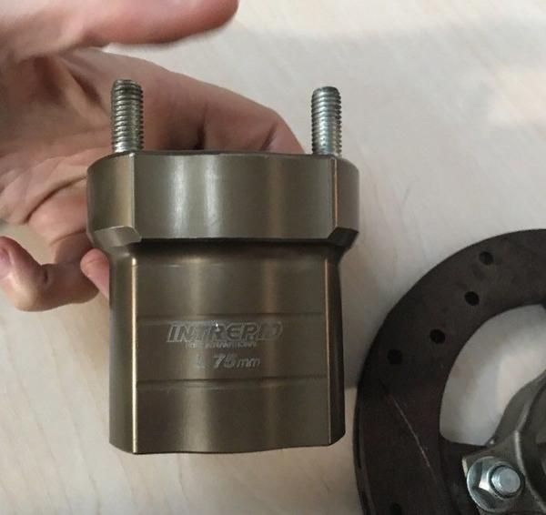 Secondhand disc brake