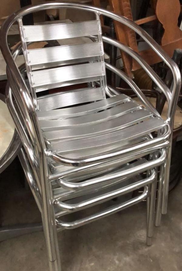 Aluminium chairs for sale