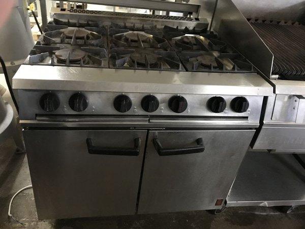 Falcon Dominator Gas 6 Burner Oven