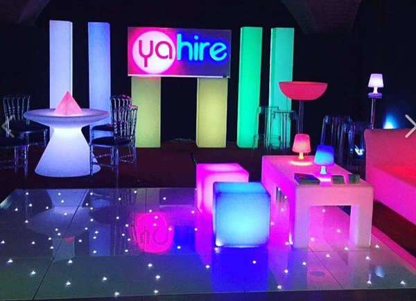Hire quality LED furniture