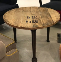 Round wooden table for sale