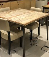 Industrial style long table for sale