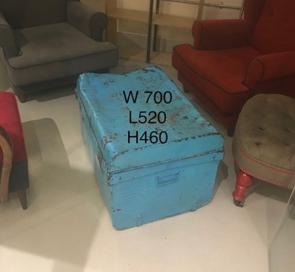 Metal trunk for sale