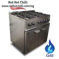 Parry 6 burner oven