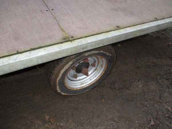 Galvanised trailer for sale