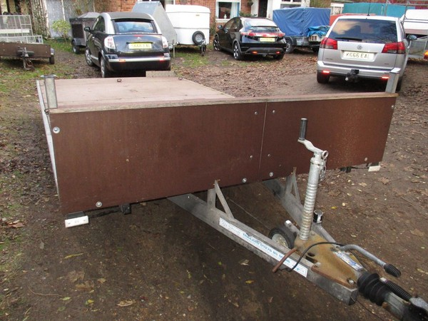 Secondhand flat bed trailer for sale