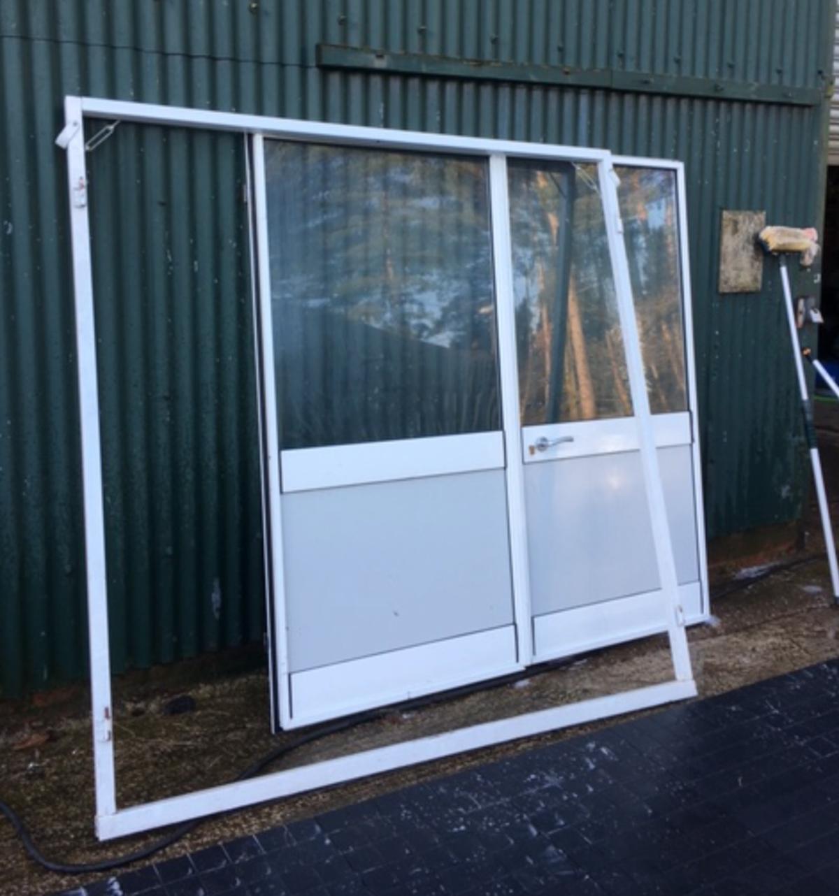 Curlew Secondhand Marquees Doors 1x Set Of Doors For Diy Poled