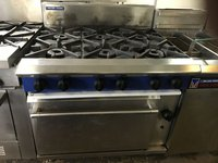 6 Burner Gas range oven