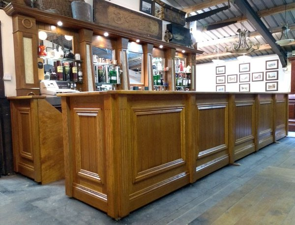 Oak bar for sale