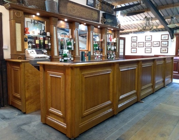 Reclaimed bar for sale