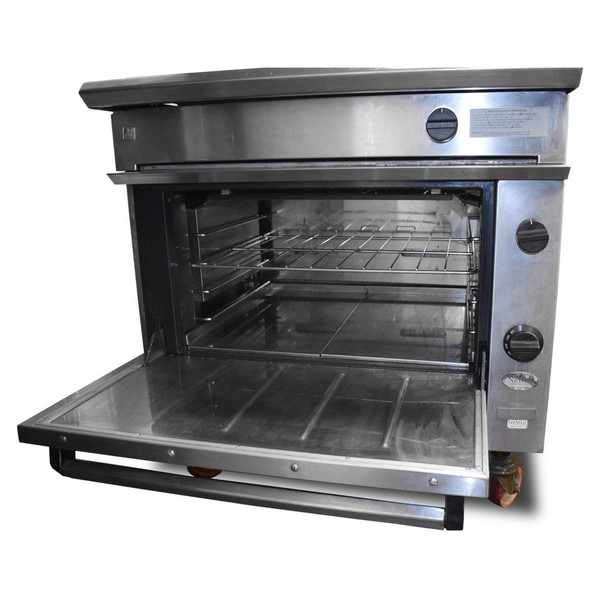 Used falcon solid top oven for sale