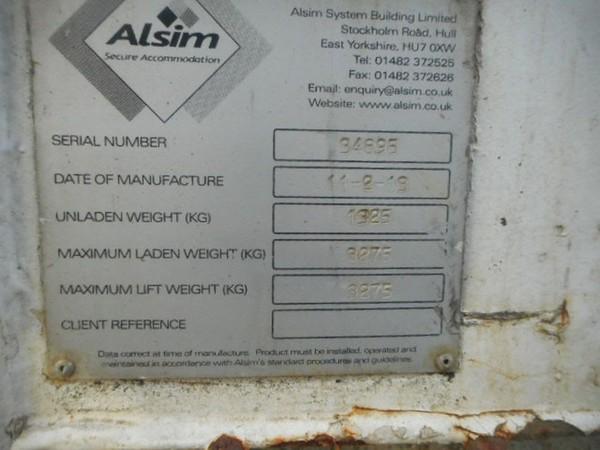 Secondhand anti vandal container